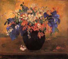 Gaugin bouquet of flowers