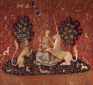 Lady with unicorn