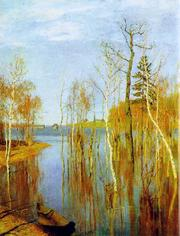 Levitan_spring_flood